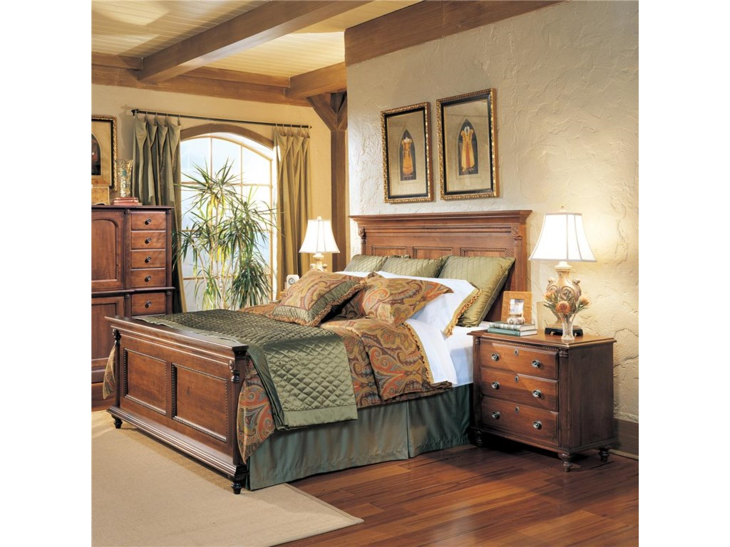 Durham Saville RowQueen Panel Bed