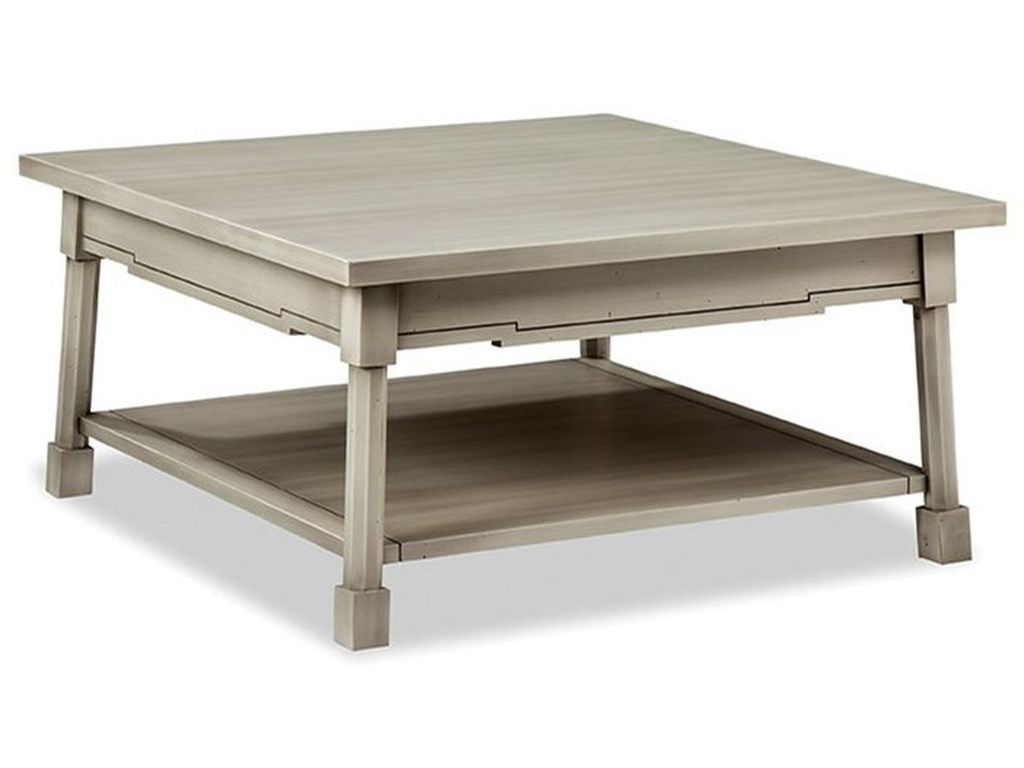 Durham Solid Accents - Classic FoundrySquare Cocktail Table
