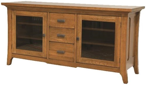 Durham Solid Choices Modern Westwood Plasma TV Cabinet with Contemporary Style