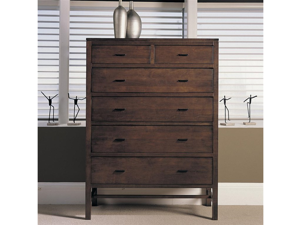 Durham Soma Six Drawer Chest
