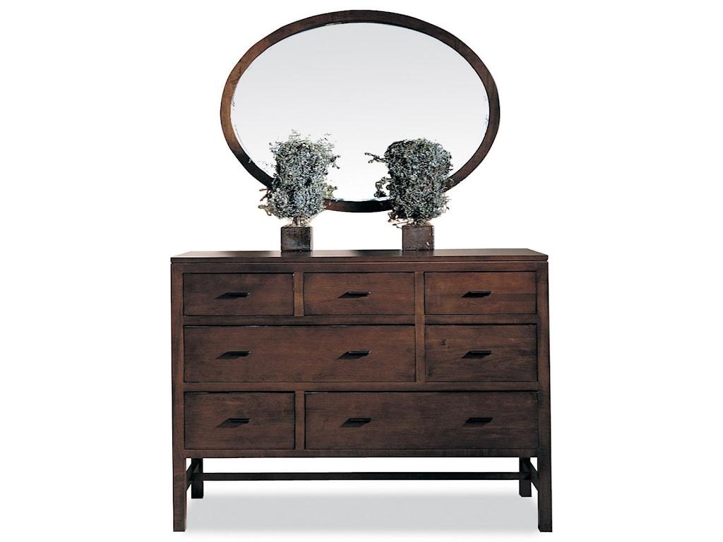 Durham Soma Oval Mirror