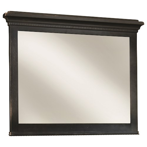 Durham Springville Vertical Frame Mirror w/ Beveled Glass
