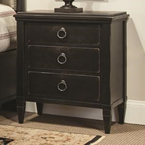 Durham Springville Night Stand w/ 3 Drawers