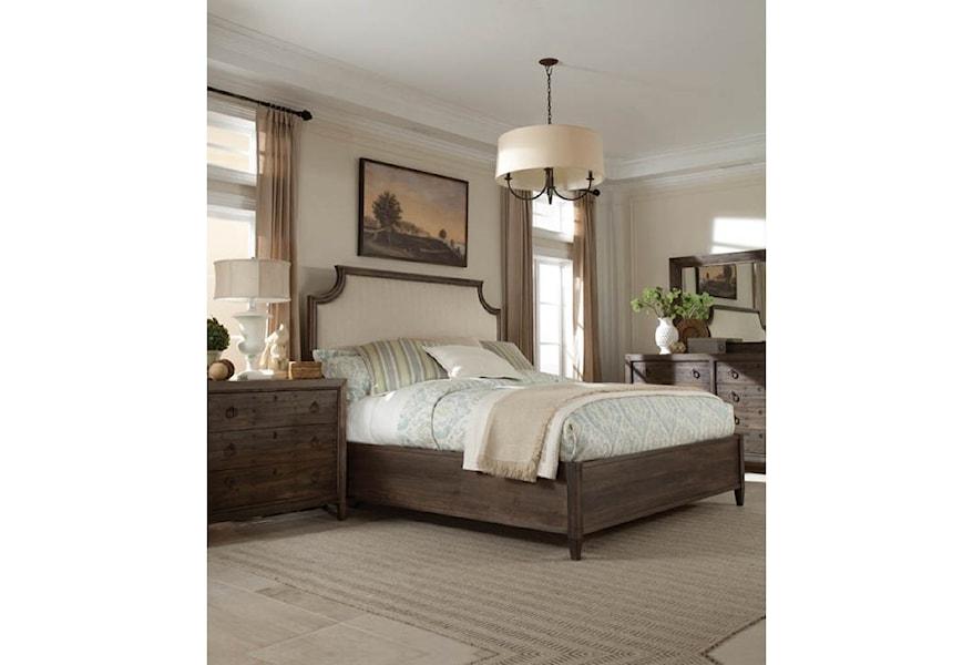 Durham The Distillery Queen Bedroom Group Jacksonville Furniture