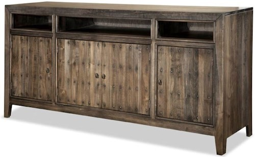 Durham The Distillery Entertainment Credenza with Power Bar