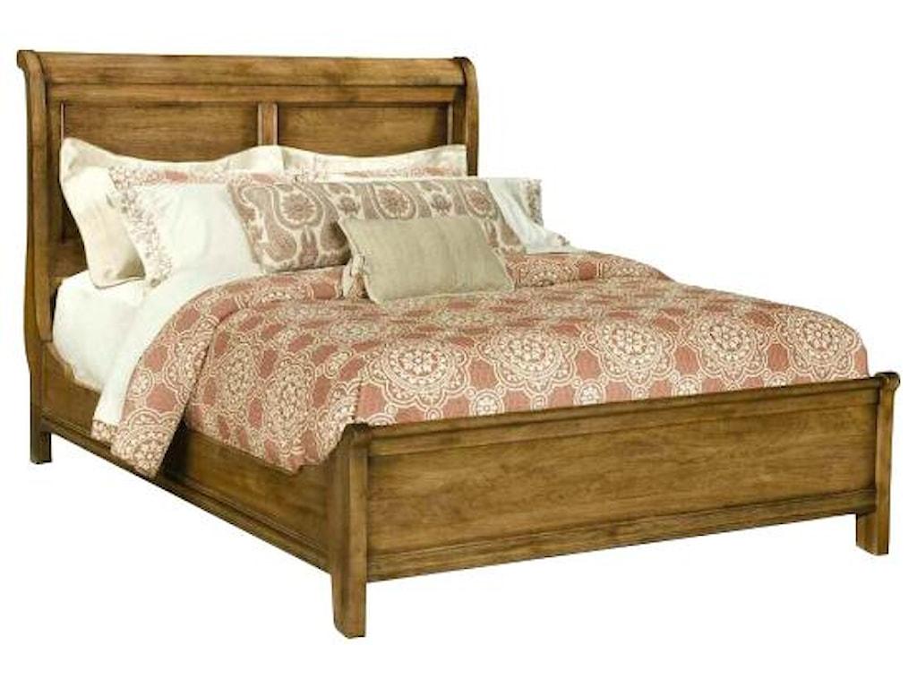 Durham Vineyard Creek Queen Size Low Sleigh Bed