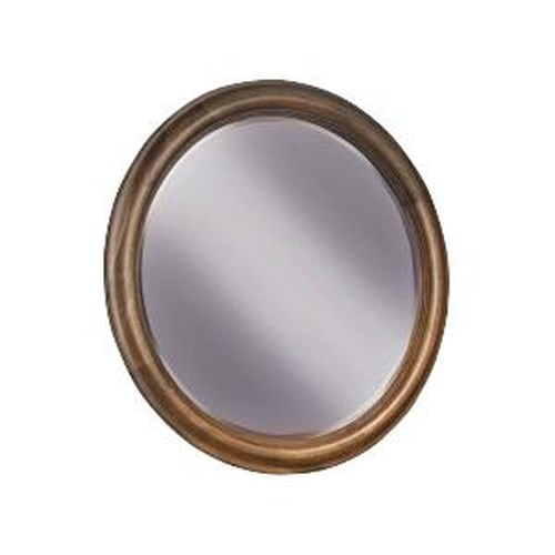 Durham Vineyard Creek  Circular Beveled Wall Mirror for Dressing Chest Accent
