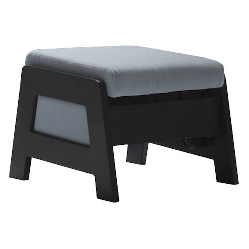 Dutalier 7321 Contemporary Ottoman for Gliding Chair