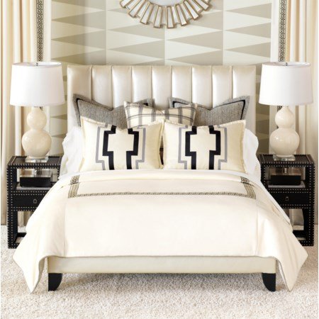 Queen Button-Tufted Comforter