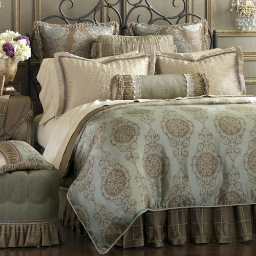 Eastern Accents Marbella Full Duvet Cover