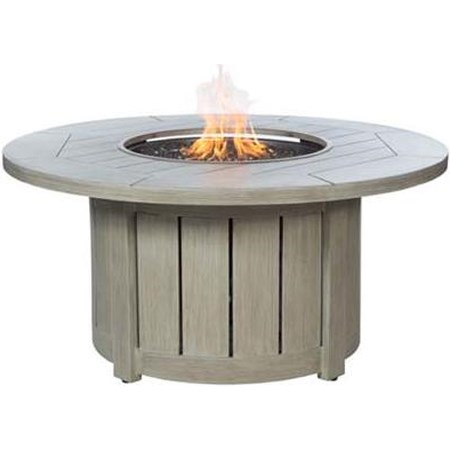 Round Base and Round Top Fire Pit