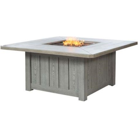 54 Inch Square Fire Pit