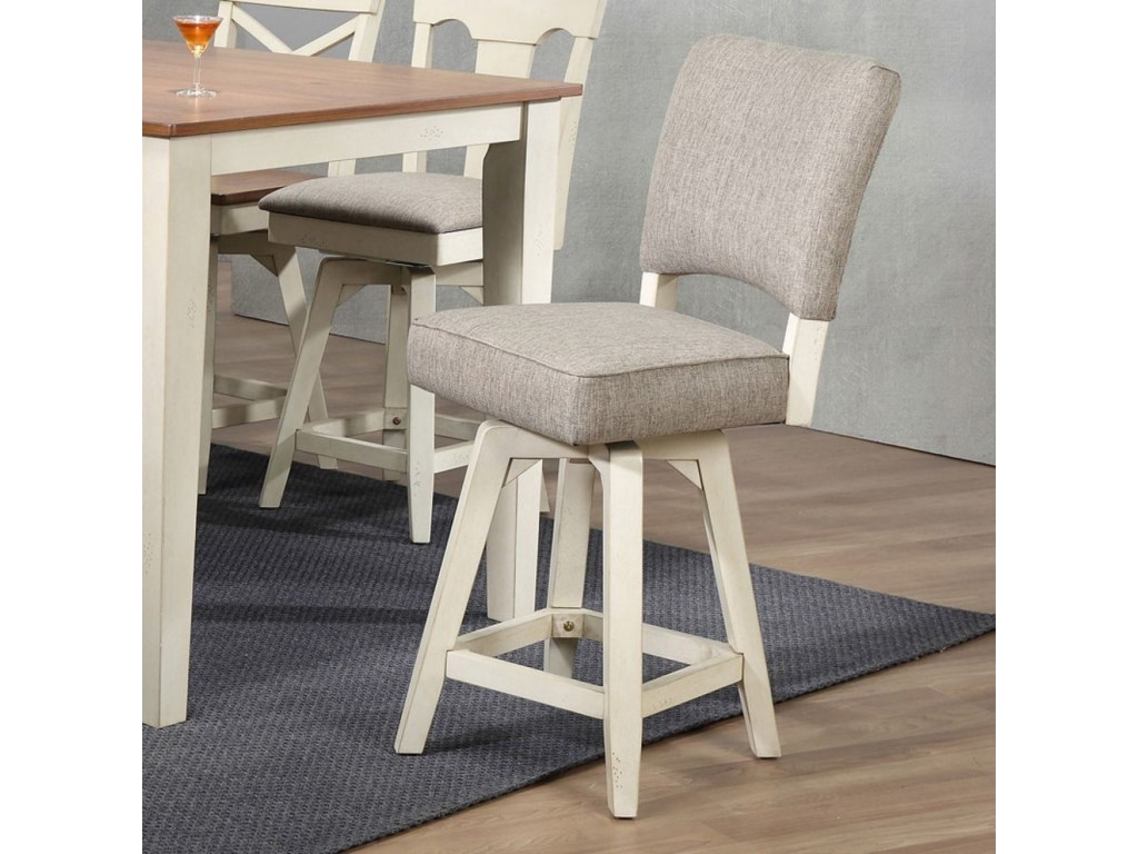 E.C.I. Furniture 0740Counter Height Parsons Stool
