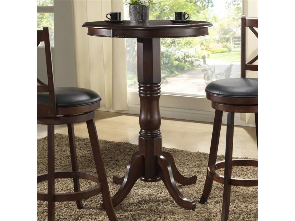 E.C.I. Furniture Burnished CollectionCounter Height Pub Table