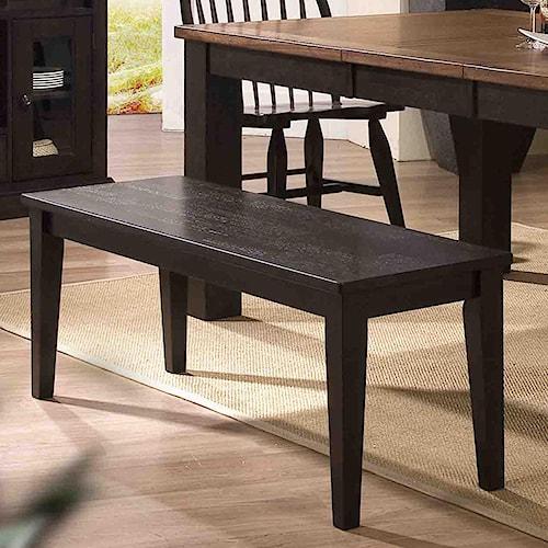 E.C.I. Furniture Acacia Backless Dining Bench
