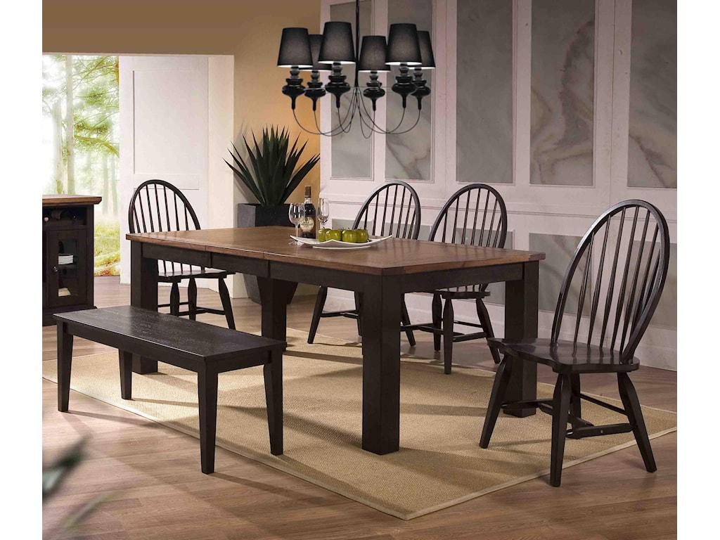 E.C.I. Furniture AcaciaSide Chair (KD - 2 Per Carton)