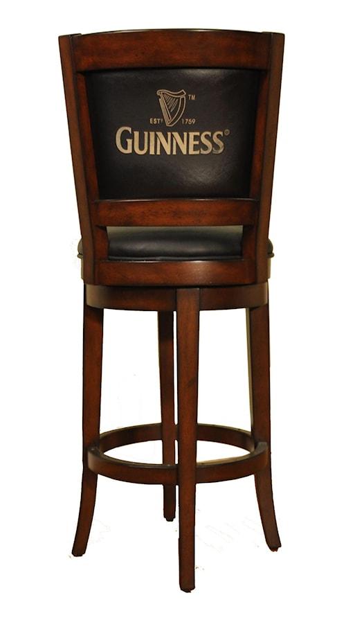 E C I Furniture Bar Stools 1236 35 Bs 30 Swivel Stool