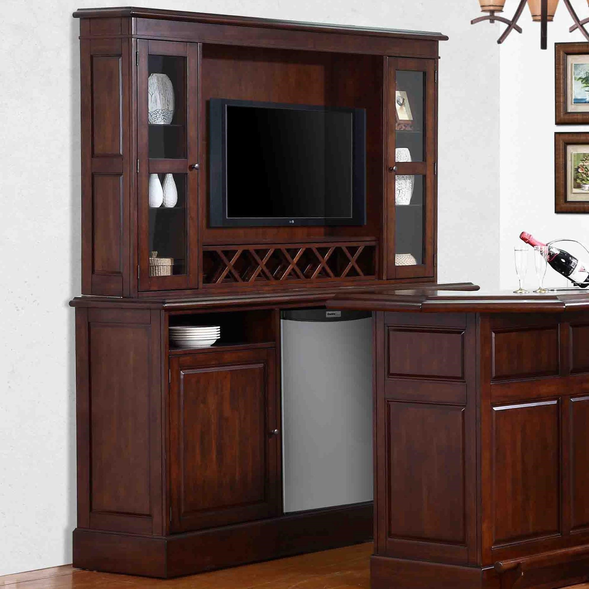 Picture of: E C I Furniture Belvedere 0411 Belvedere Back Bar With Hutch Wayside Furniture Bar Cabinets