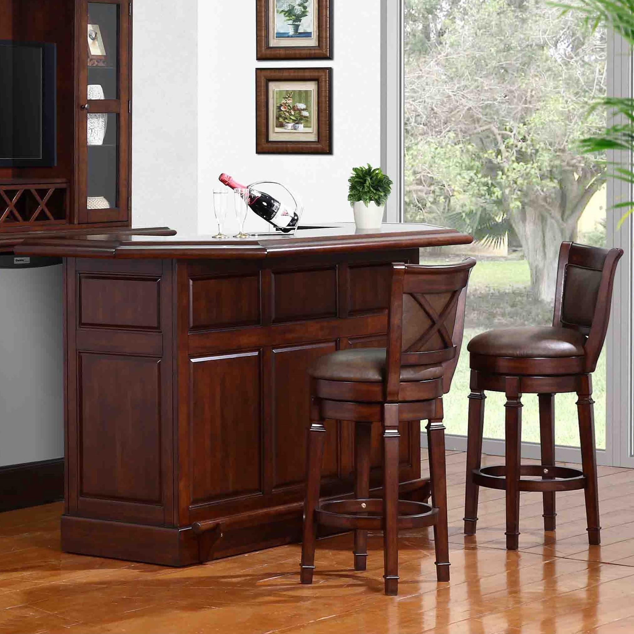 Delicieux E.C.I. Furniture Belvedere 0411 Bar Set With Stools