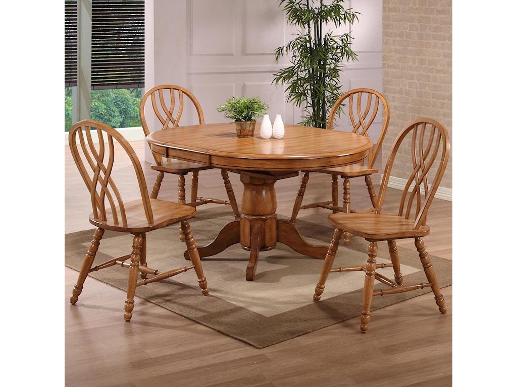 E.C.I. Furniture Dining 5 Piece Set