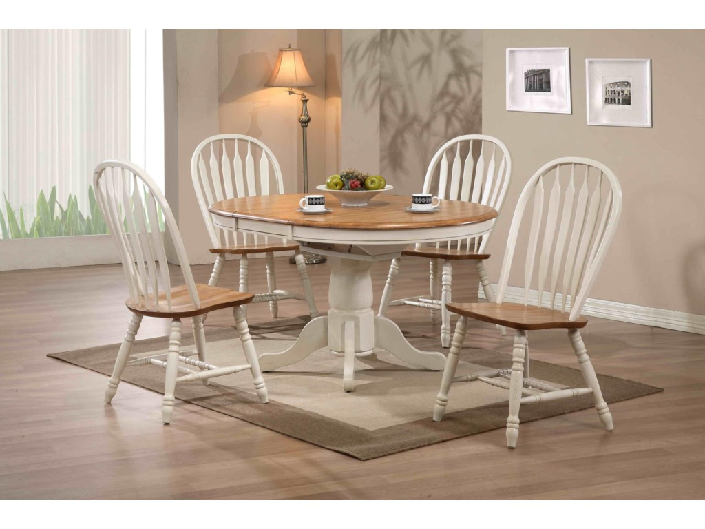 E.C.I. Furniture Dining Round Dining Table