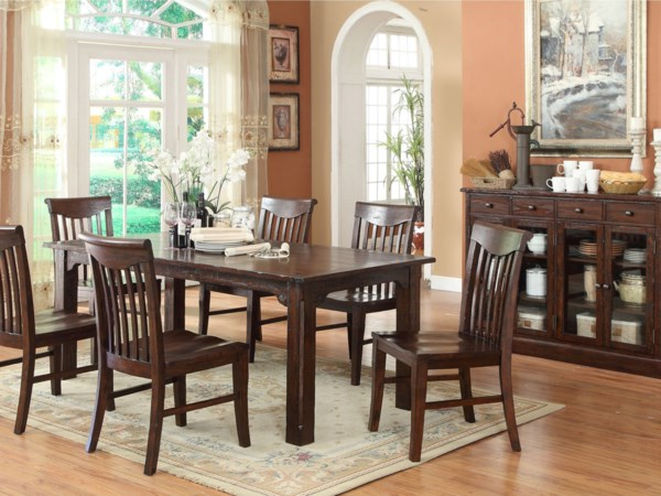 ECI Furniture Gettysburg Casual Dining Room Group