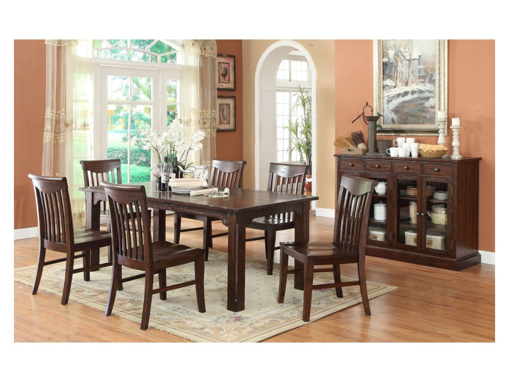E.C.I. Furniture GettysburgDining Room Group