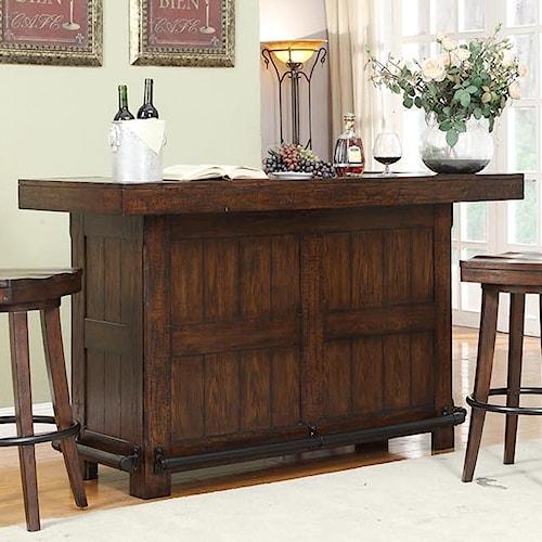E.C.I. Furniture Gettysburg Gettysburg Bar With Bottle Opener