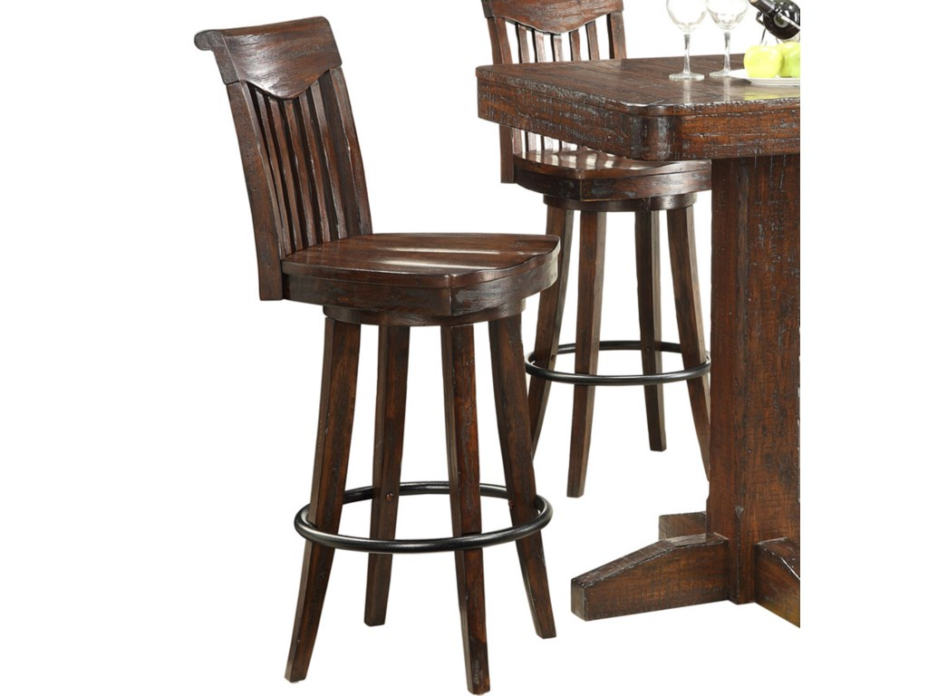 E.C.I. Furniture GettysburgCounter Height Swivel Bar Stool