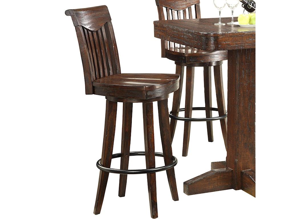 E c i furniture gettysburgcounter height swivel bar stool