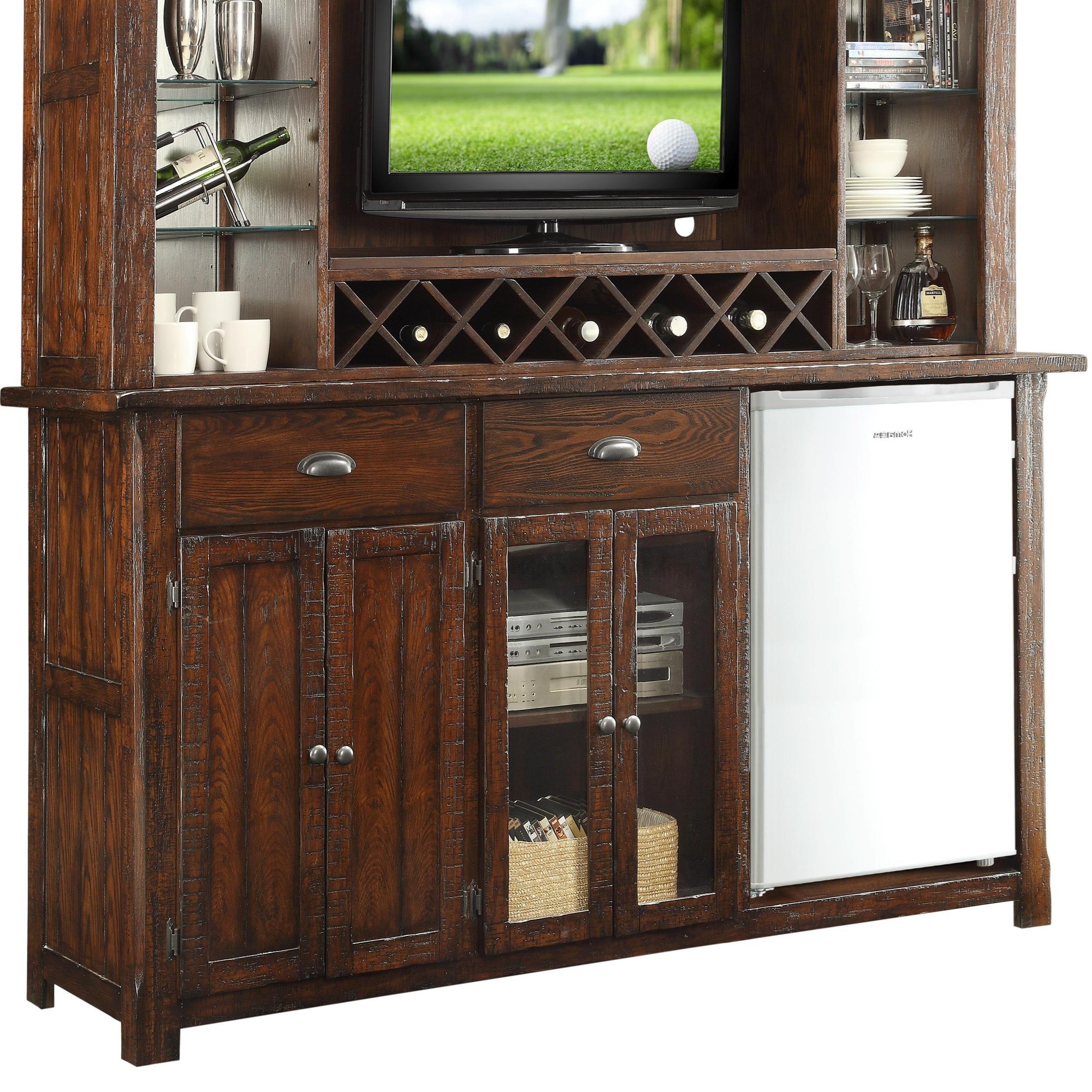 Superbe E.C.I. Furniture Gettysburg Entertainment Back Bar Base