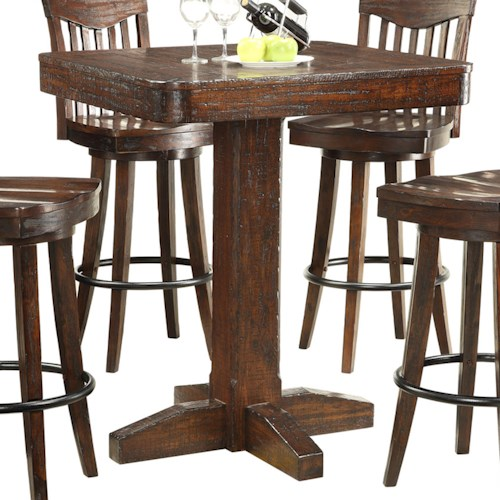 E.C.I. Furniture Gettysburg Dining Pub Table