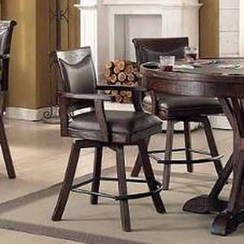 E.C.I. Furniture Gettysburg Spectator Memory Swivel Counter Stool