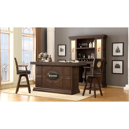 E.C.I. Furniture Guinness Bar Guinness Bar Set with Stools