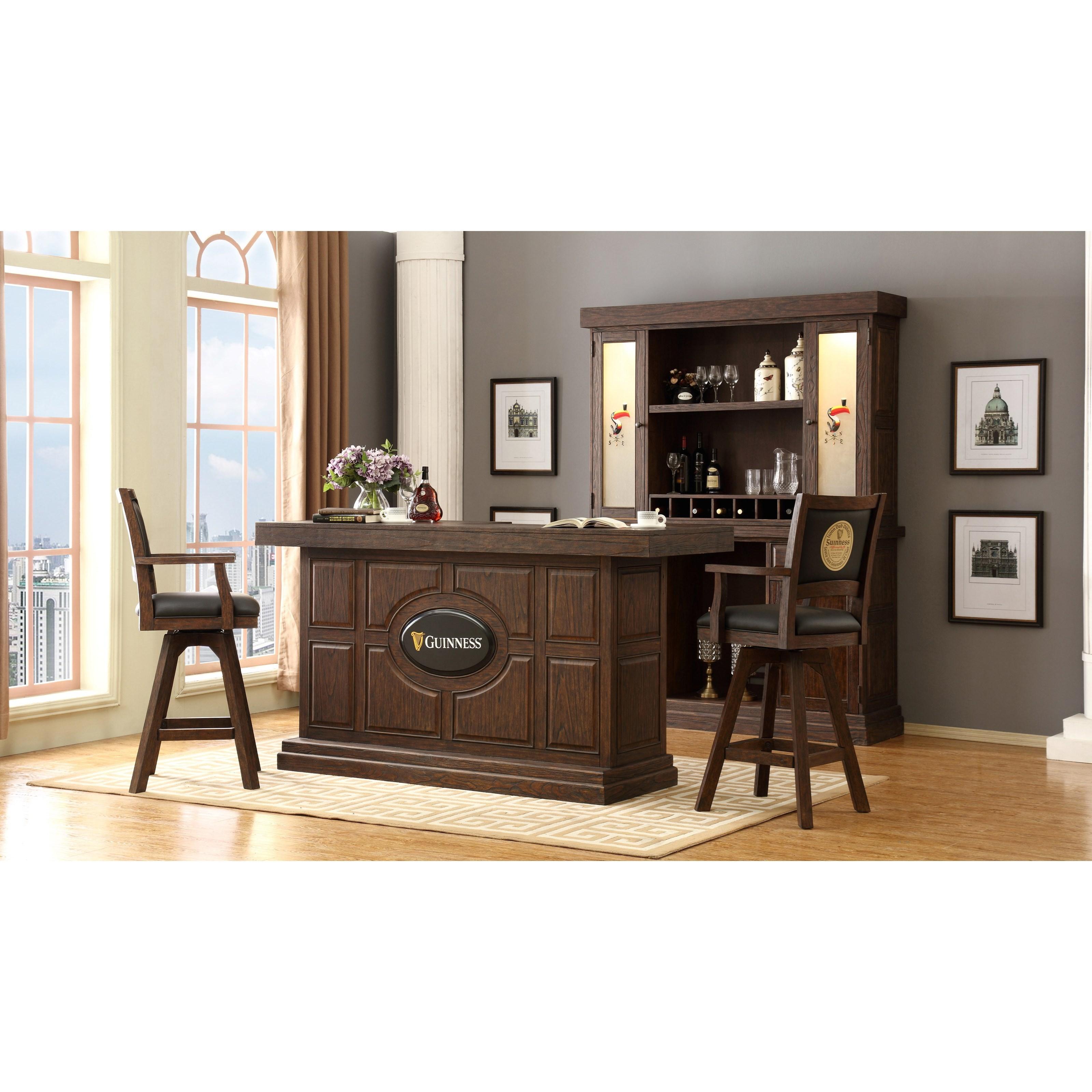 Beau E.C.I. Furniture Guinness BarGuinness Bar Set With Stools ...
