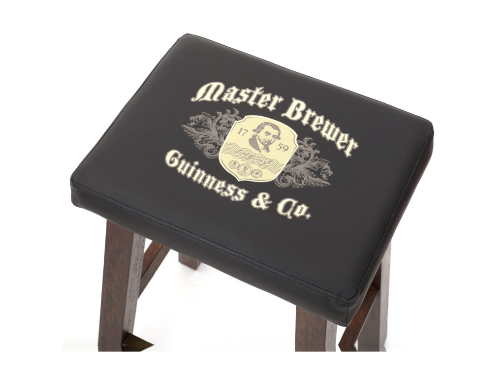 E.C.I. Furniture Guinness BarSaddle Stool