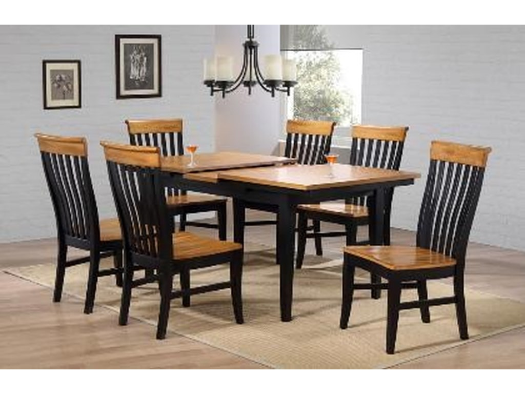 E C I Furniture Lancastersolid Wood Dining Table