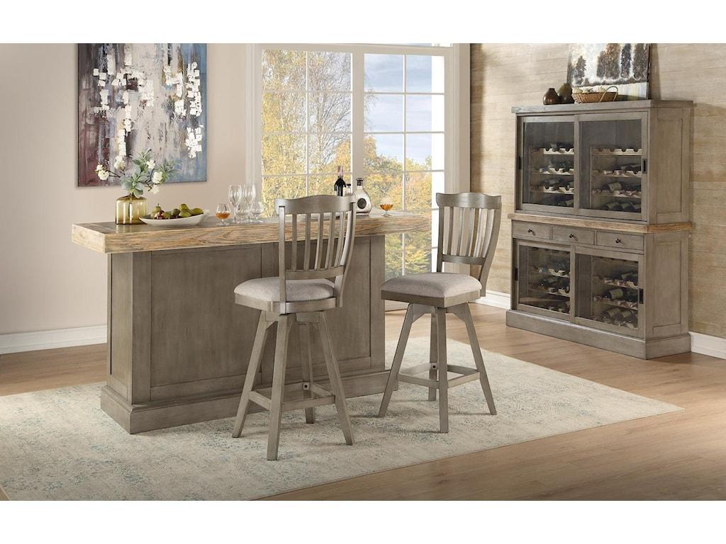 E.C.I. Furniture Pine CrestTULIP BARSTOOL - PINE CREST