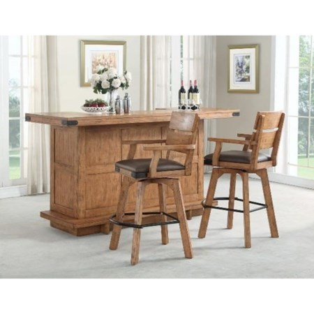 Bar Set With Stools