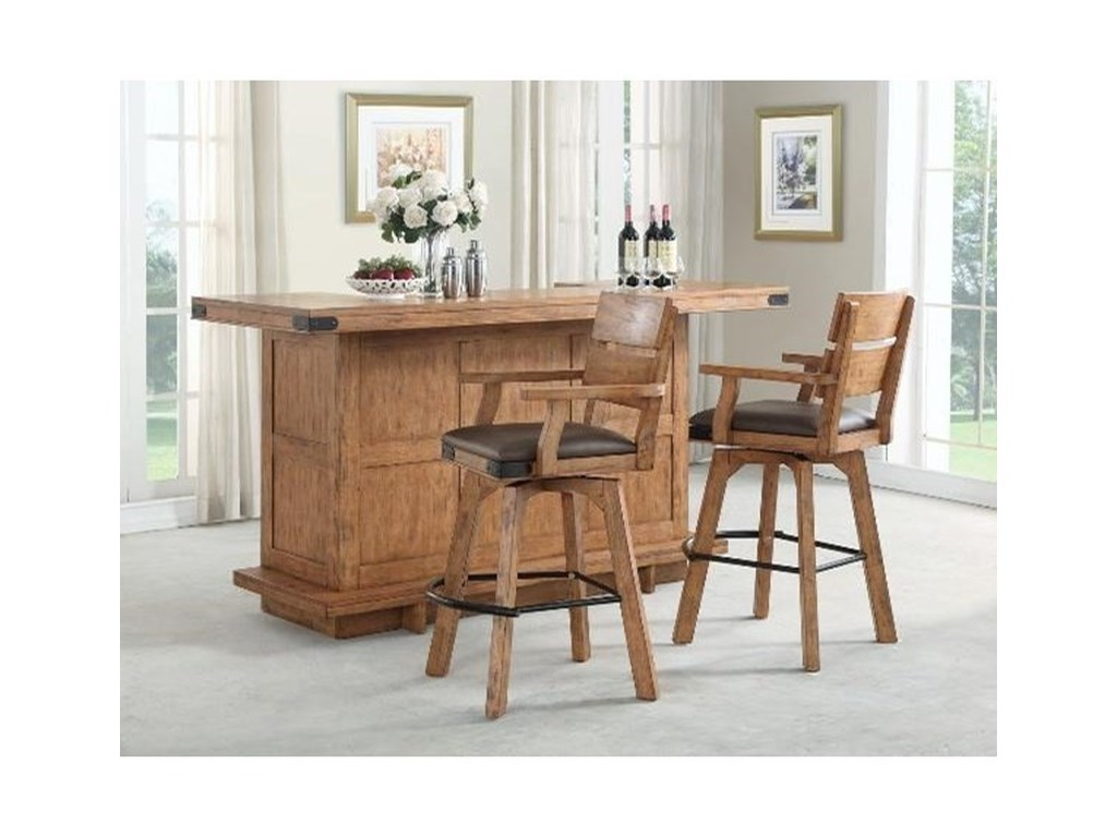 E c i furniture shenandoahbar set with stools