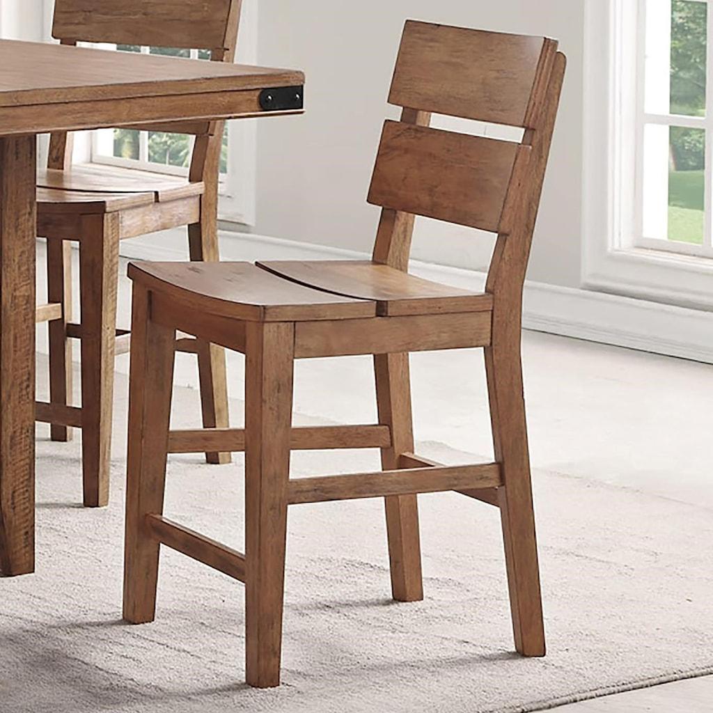 E c i furniture shenandoah 0515 88 cs counter height stool with distressed finish dunk bright furniture bar stools