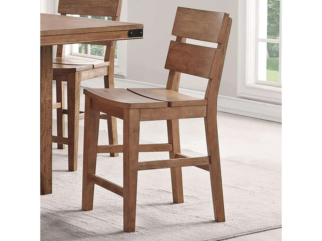 E c i furniture shenandoah 0515 88 cs counter height stool with distressed finish dunk bright furniture bar stools