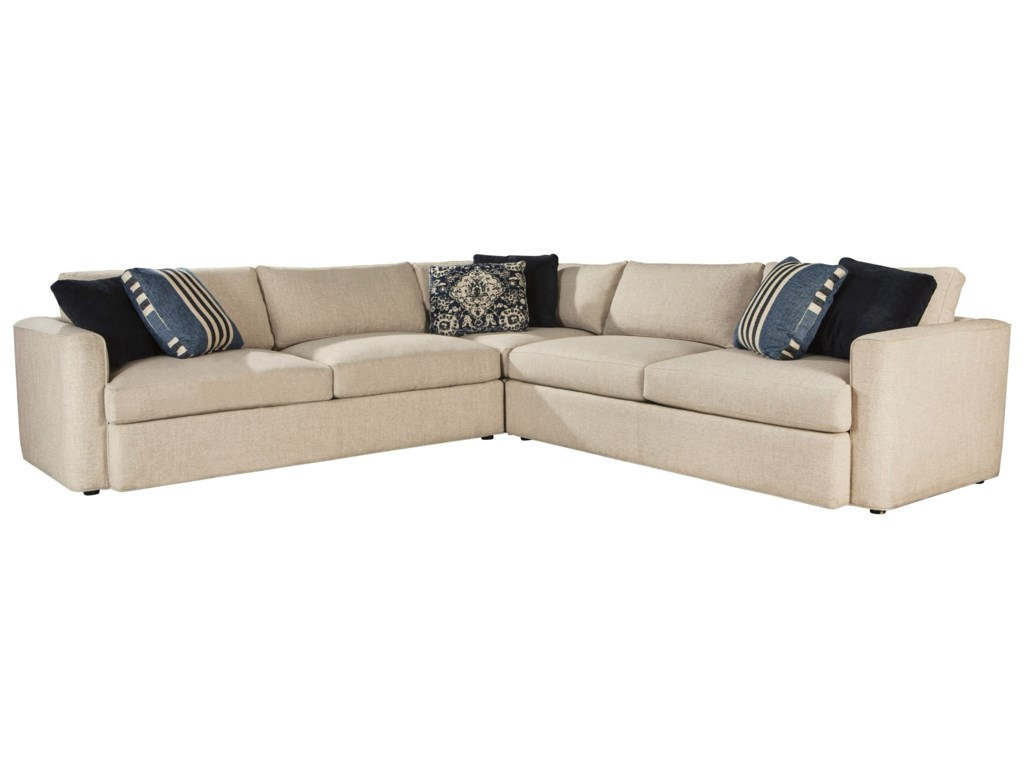 Ed Ellen Degeneres Crafted By Thomasville Degeneres3 Pc Ladera Sectional