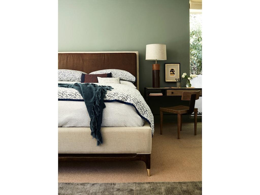 ED Ellen DeGeneres Crafted by Thomasville Ellen DeGeneresWilshire Upholstered Bed, Queen 5/0 Complete