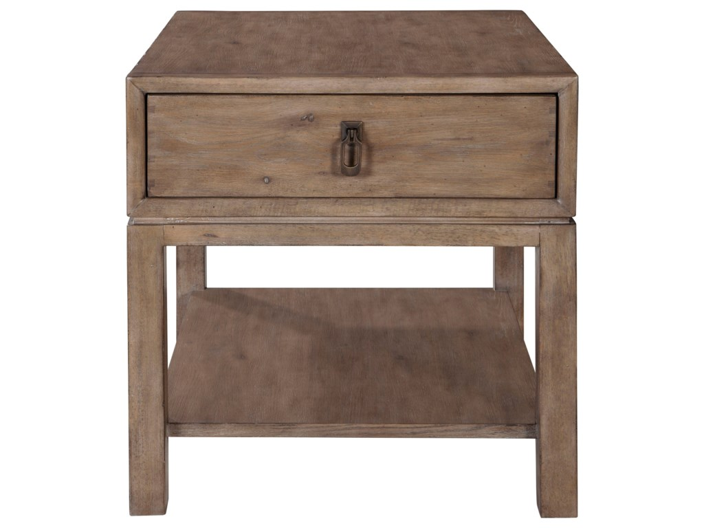 ED Ellen DeGeneres Crafted by Thomasville Ellen DeGeneresJefferson Drawer End Table