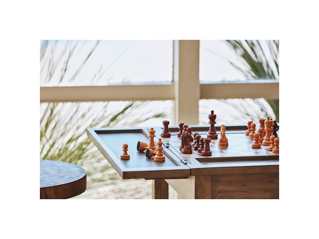 ED Ellen DeGeneres Crafted by Thomasville Ellen DeGeneresWeslin Chairside Game Table