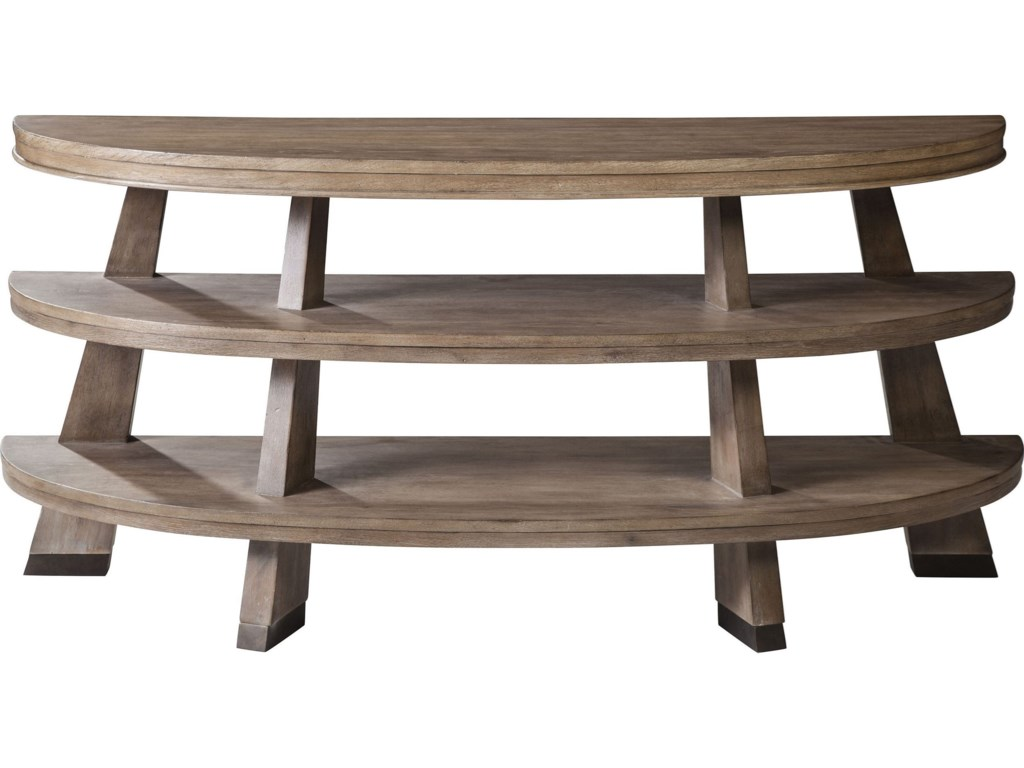 ED Ellen DeGeneres Crafted by Thomasville Ellen DeGeneresVan Nuys Canted Leg Console Table