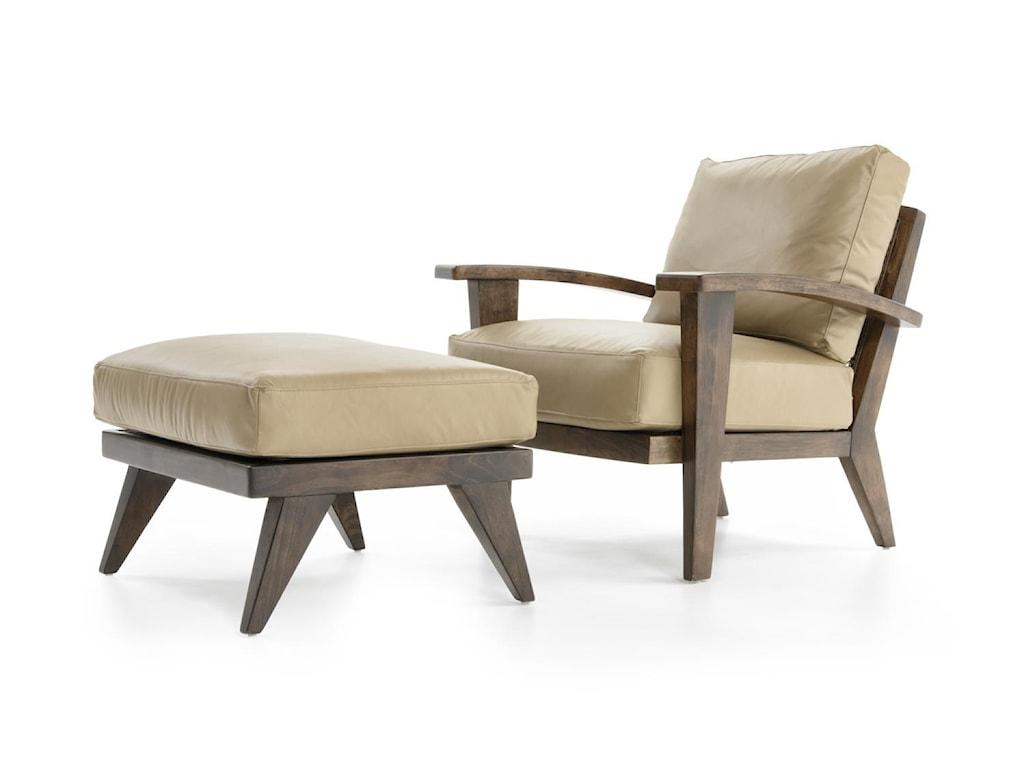 ED Ellen DeGeneres Crafted by Thomasville Ellen DeGeneresHilcrest Chair & Ottoman Set