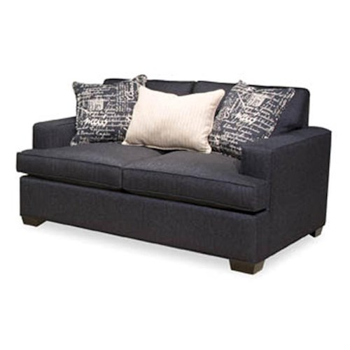 EJ Lauren Jasmine Contemporary Loveseat