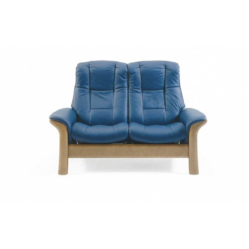 Stressless by Ekornes Stressless Windsor Highback reclining leather 2-seat Sofa